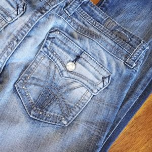Kut From The Kloth 4 Bootcut Flap Pockets Med Wash